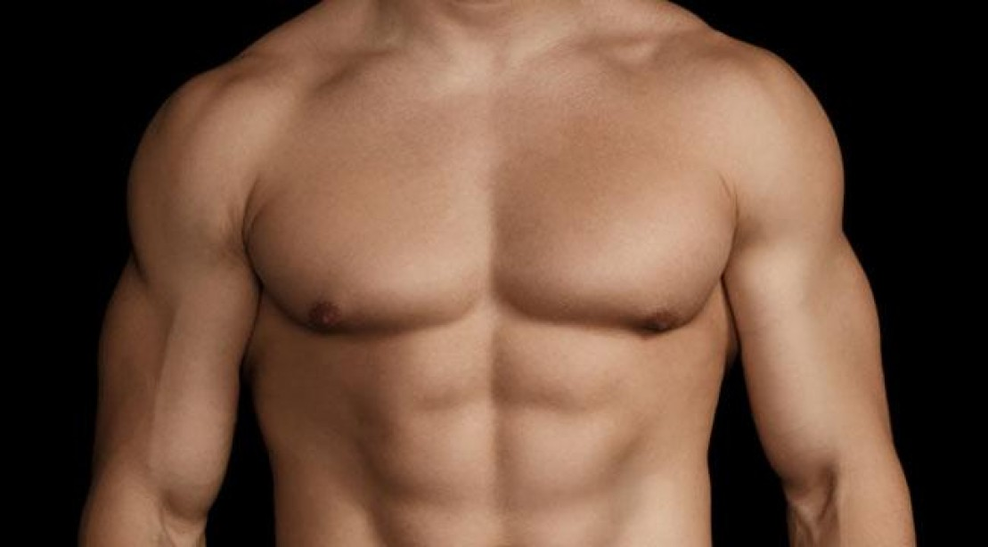 Strong Torso Young Man On White Stock Photo (Edit Now