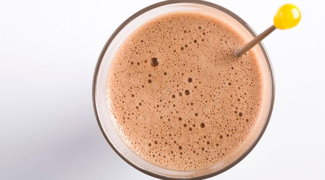 Bodybuilding recipes - chocolate protein shake
