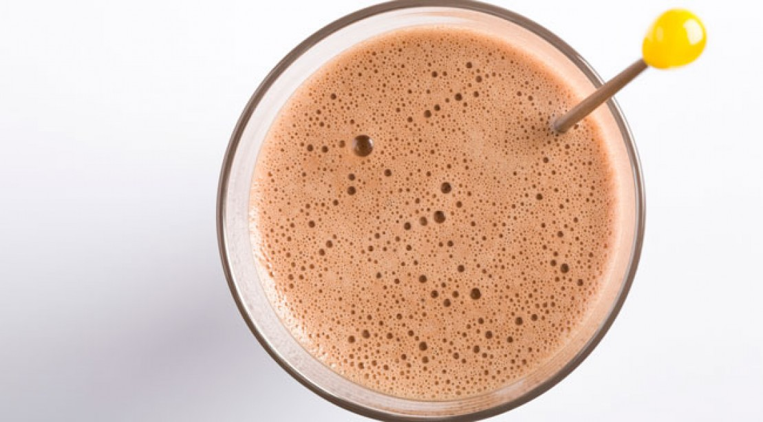 Bodybuilding recipes - chocolate protein shake