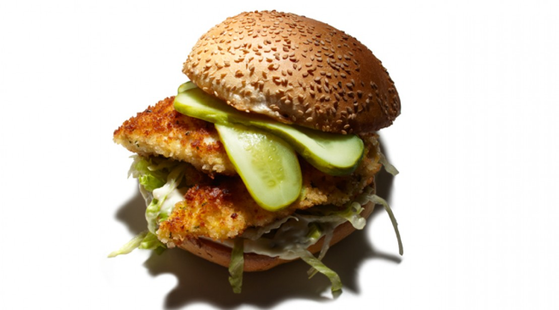 Healthy Catch: Cod Sandwich