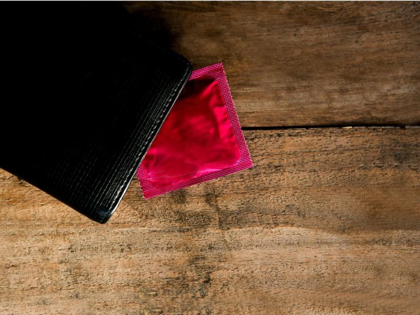 Condom in Wallet