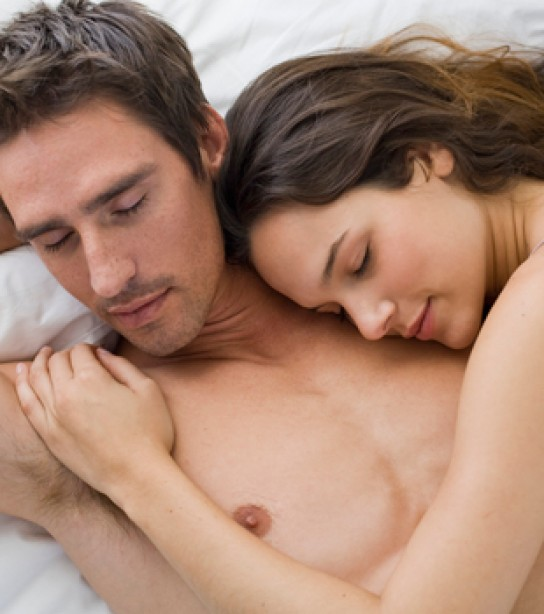 Something girl has sex on couple sleeping
