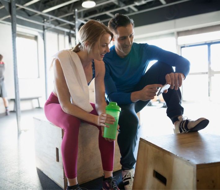 8 Real Stories from Couples Who Met at the Gym