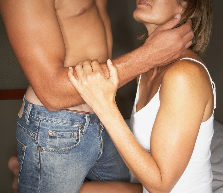 Man and woman having performing oral sex on each other