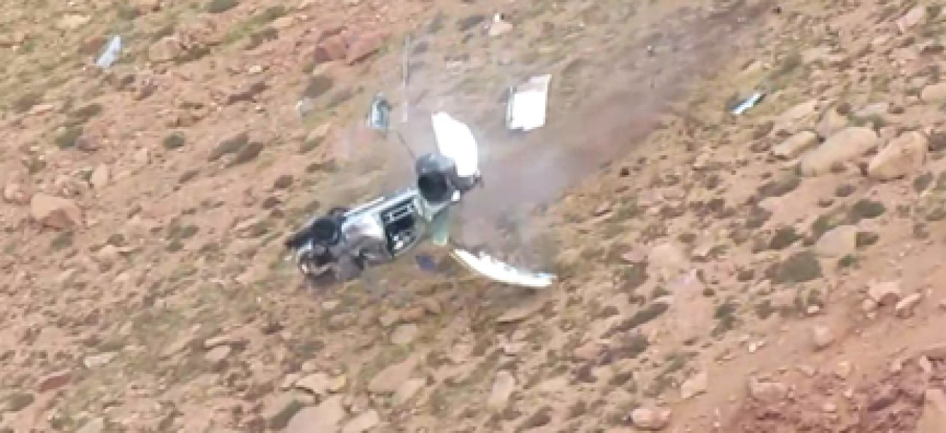 How the Hell Did These Guys Survive This Crash?