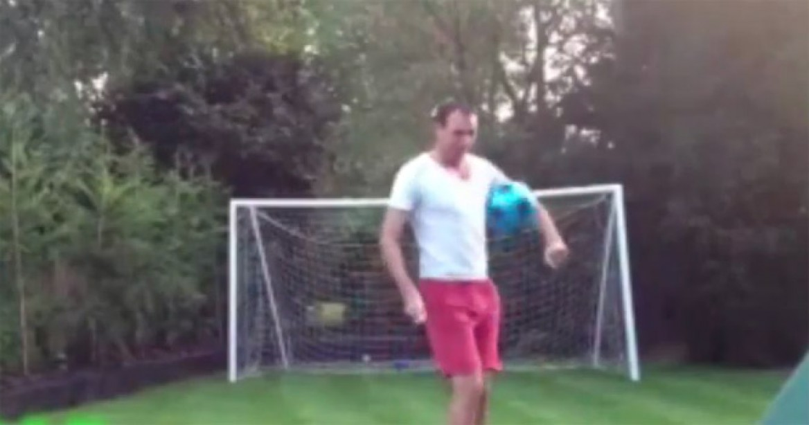 M&F Lesson of the Day: Don't Make Your Baby Son Play Goalkeeper