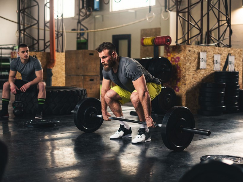 Deadlift Barbell