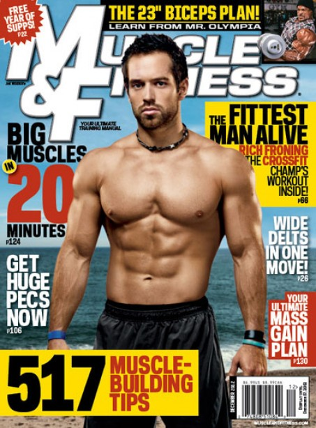The Fittest Man Alive in December's Muscle & Fitness