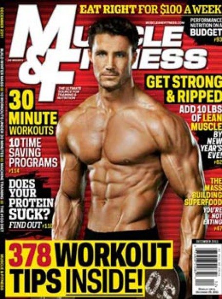 A Look Inside Muscle & Fitness' December Issue