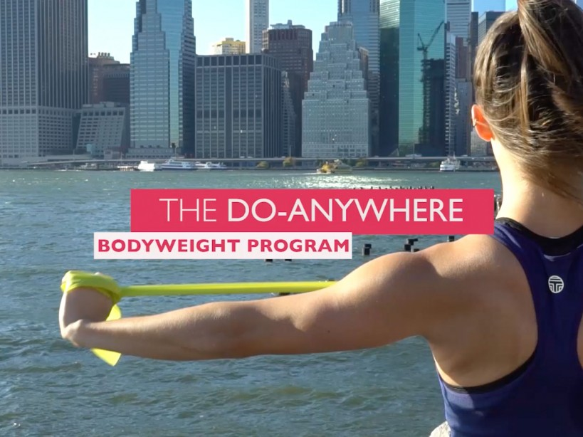 Do-Anywhere Bodyweight Program: Day I Arms