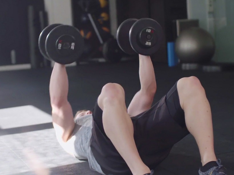 CrossFit-Inspired Challenges: The dumbbell HIIT complex