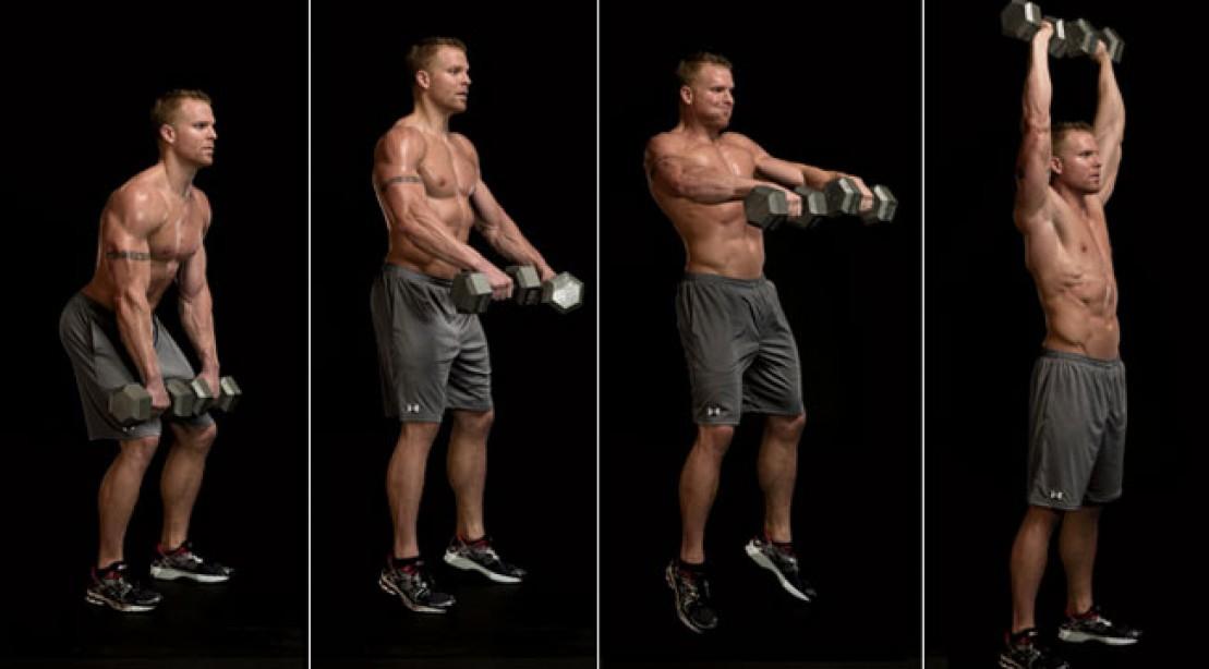Metabolic Circuit Training Workout Routine