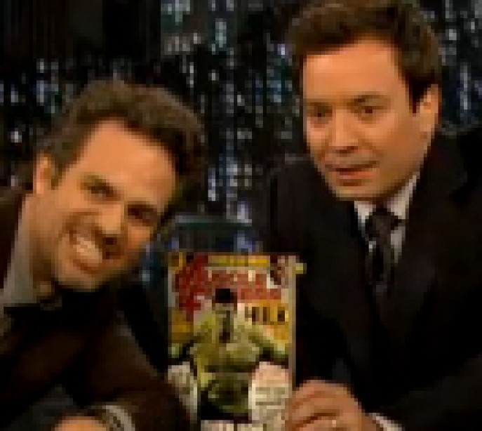 The Hulk Issue Gets Some Love from Mark Ruffalo on Late Night With Jimmy Fallon