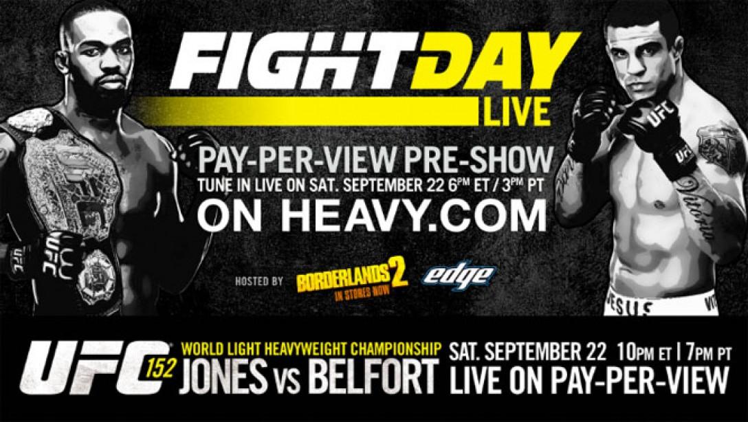 Fight Day Live: Jon Jones vs. Vitor Belfort