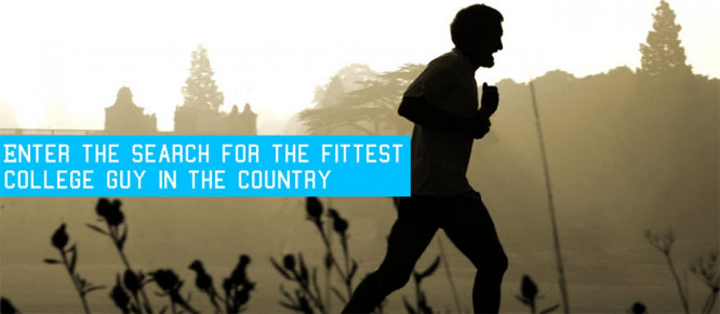 Enter the M&F Fit Man on Campus Competition!