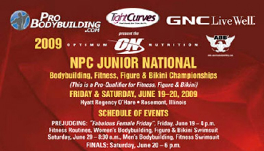 2009 NPC JUNIOR NATIONALS THIS WEEKEND