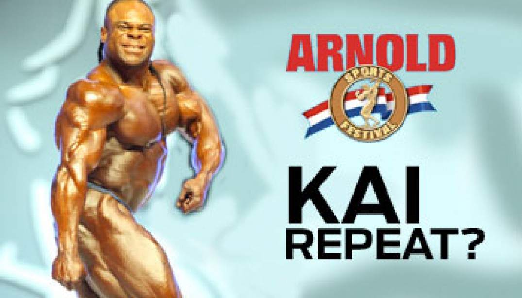 2010 ARNOLD CLASSIC PREVIEW: KAI'S REPEAT?