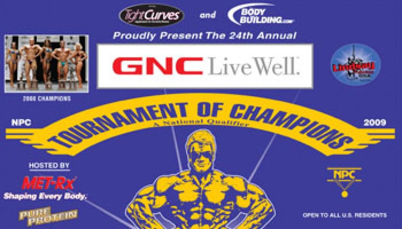 GNC NPC TOURNAMENT OF CHAMPIONS