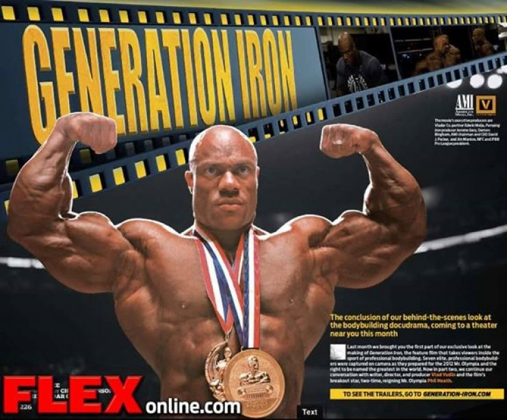 Generation Iron - Spotlight On: PHIL HEATH