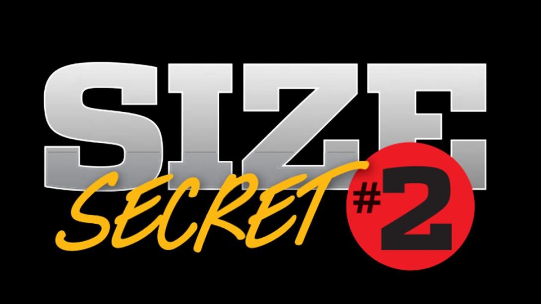 Size Secret #2: Super Slow Reps