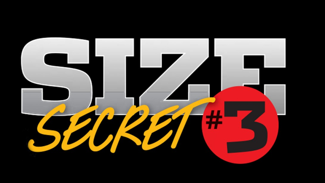Size Secret #3: Don't Overthink It