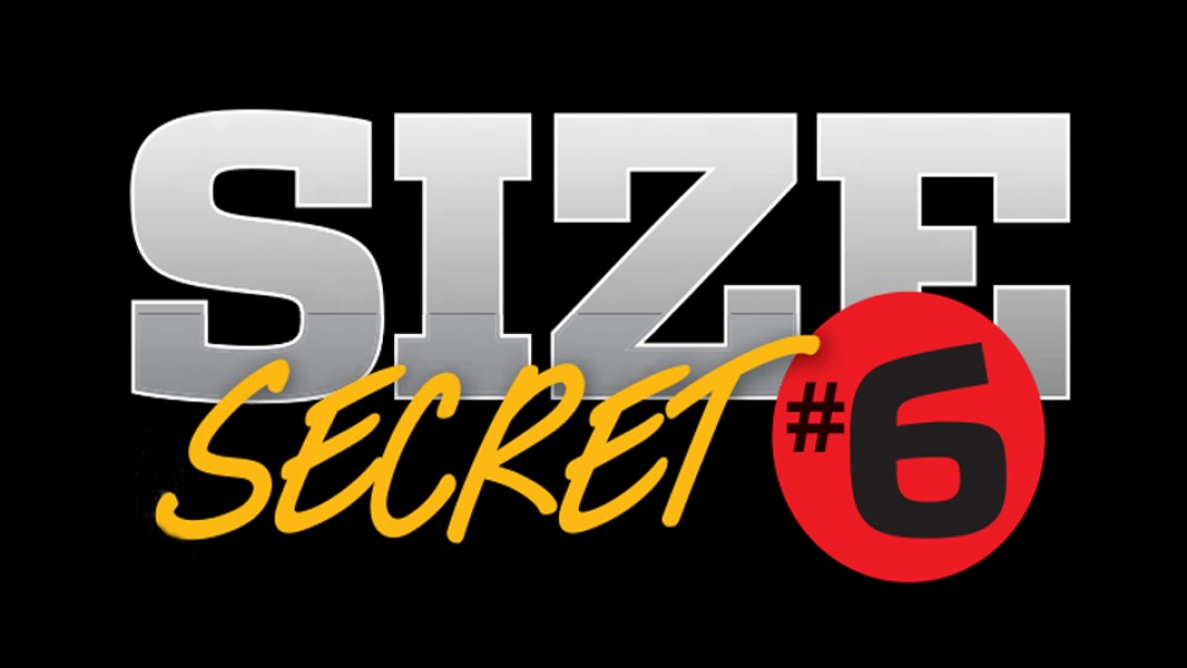 Size Secret #6: Train Each Muscle Group Twice a Week