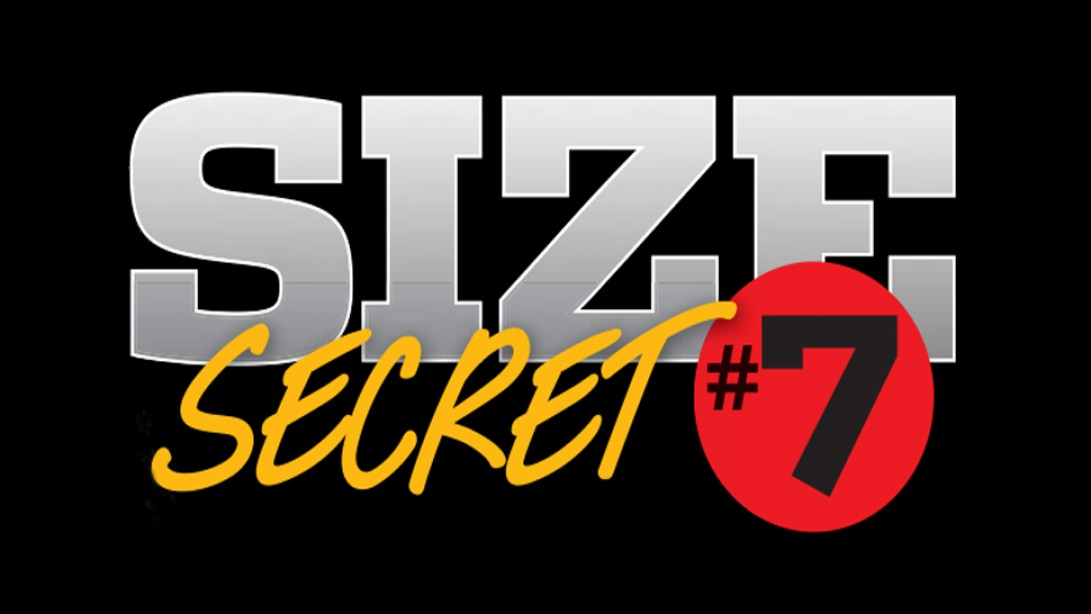Size Secret #7: Unilateral Static Holds