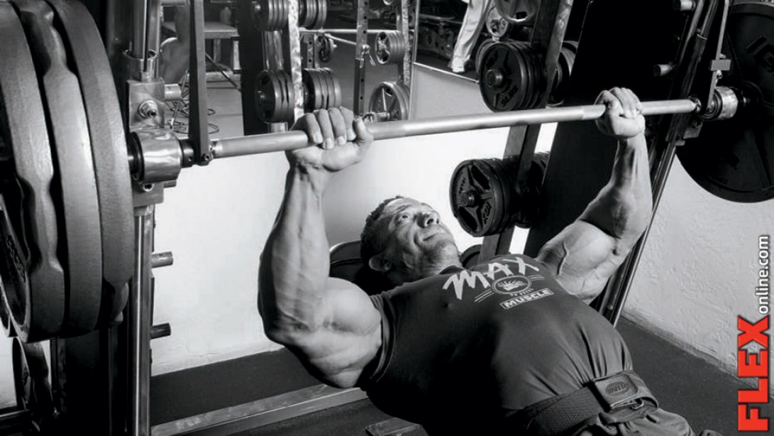 Chest Training on the Smith Machine