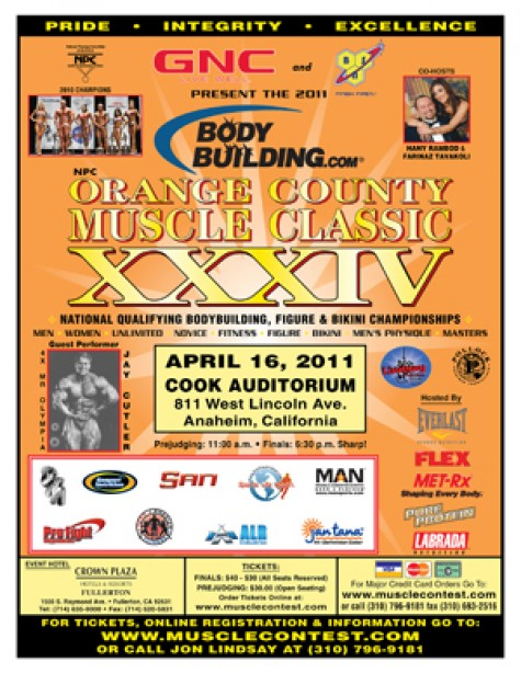 Bodybuilding Comes to Orange County!