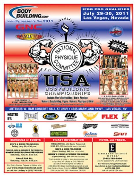 2011 NPC USA CHAMPIONSHIPS!