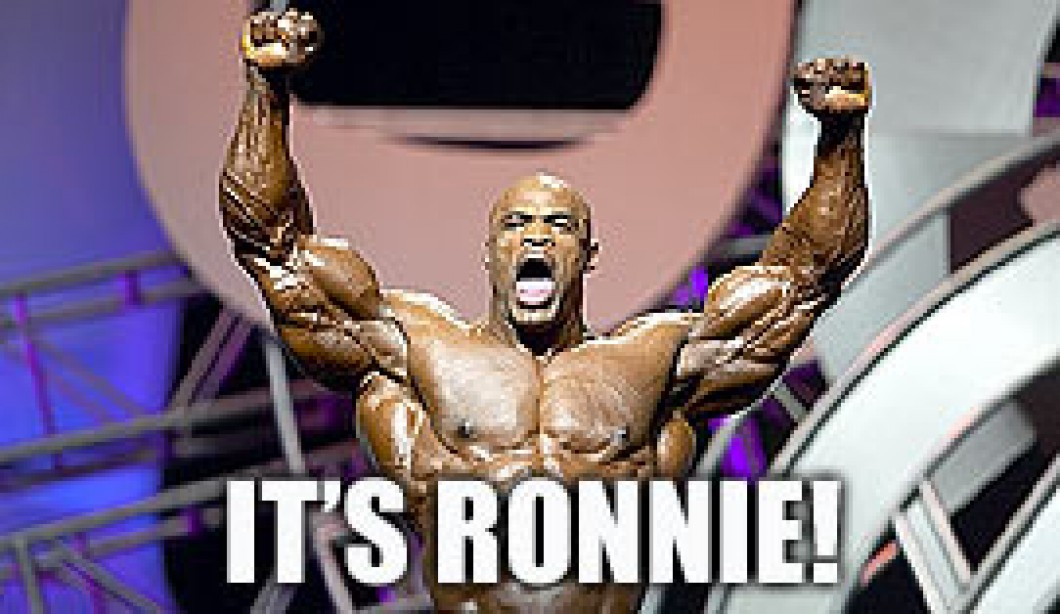 Ronnie Coleman Successfully Defends Olympia Title