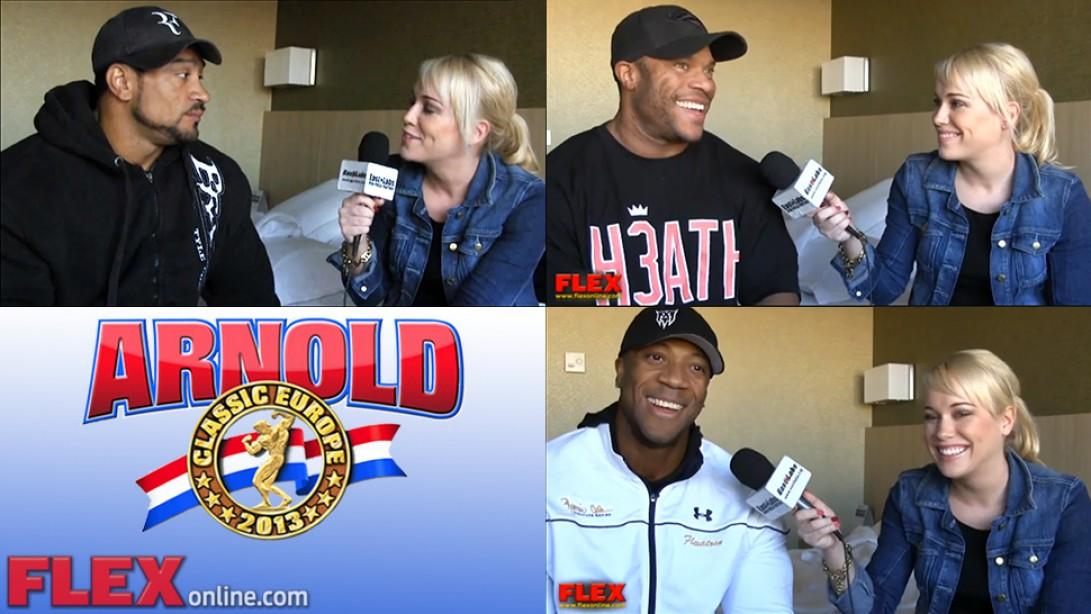 Arnold Europe Pre-Contest Interviews