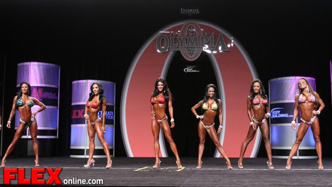 Olympia Women's Pre-Judging Report