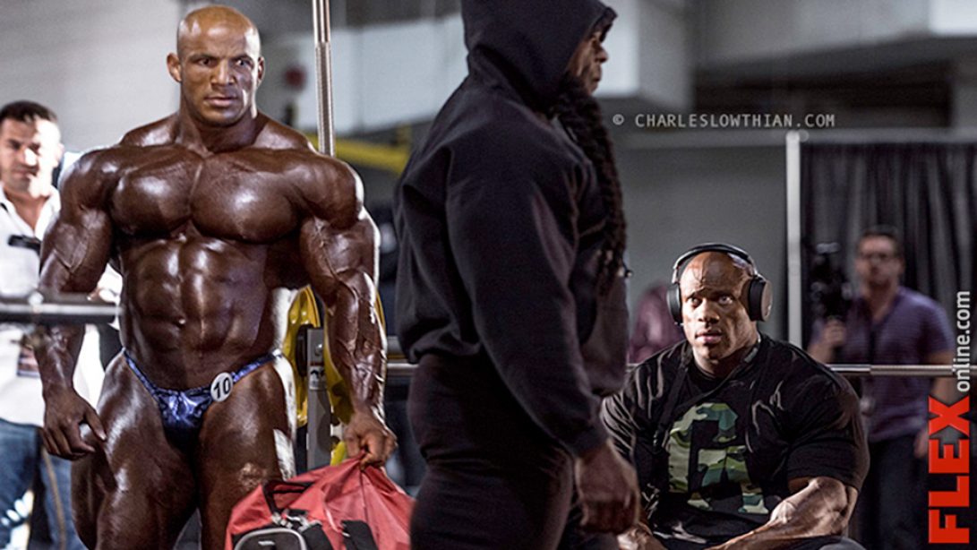 '13 Mr. Olympia Final Look-Part I