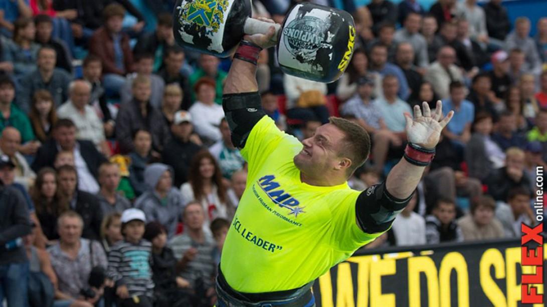 Radzikowski Wins MHP Strongman Champions League Title!