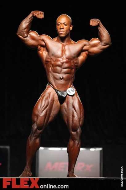 Shawn Rhoden Signs with Weider/AMI