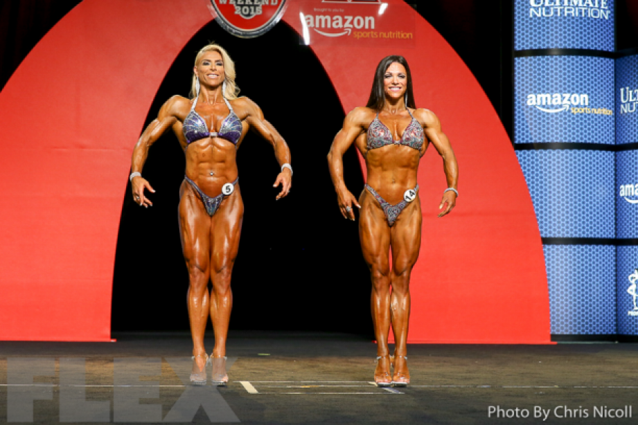 Fitness, Bikini, Physique Competitors Scorch Olympia Stage