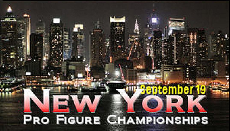 2009 IFBB NEW YORK PRO FIGURE