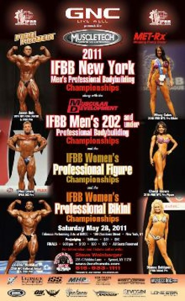 IFBB NY PRO THIS WEEKEND!