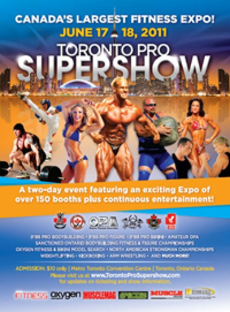 TORONTO PRO SUPERSHOW THIS WEEKEND!