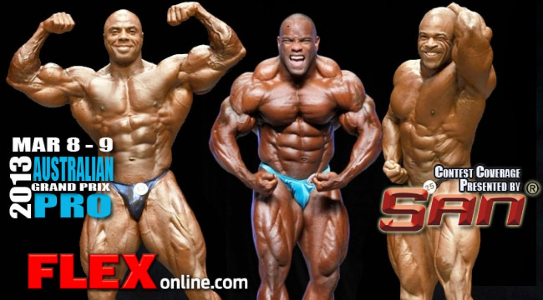 2013 Australian Pro Competitor List is Out