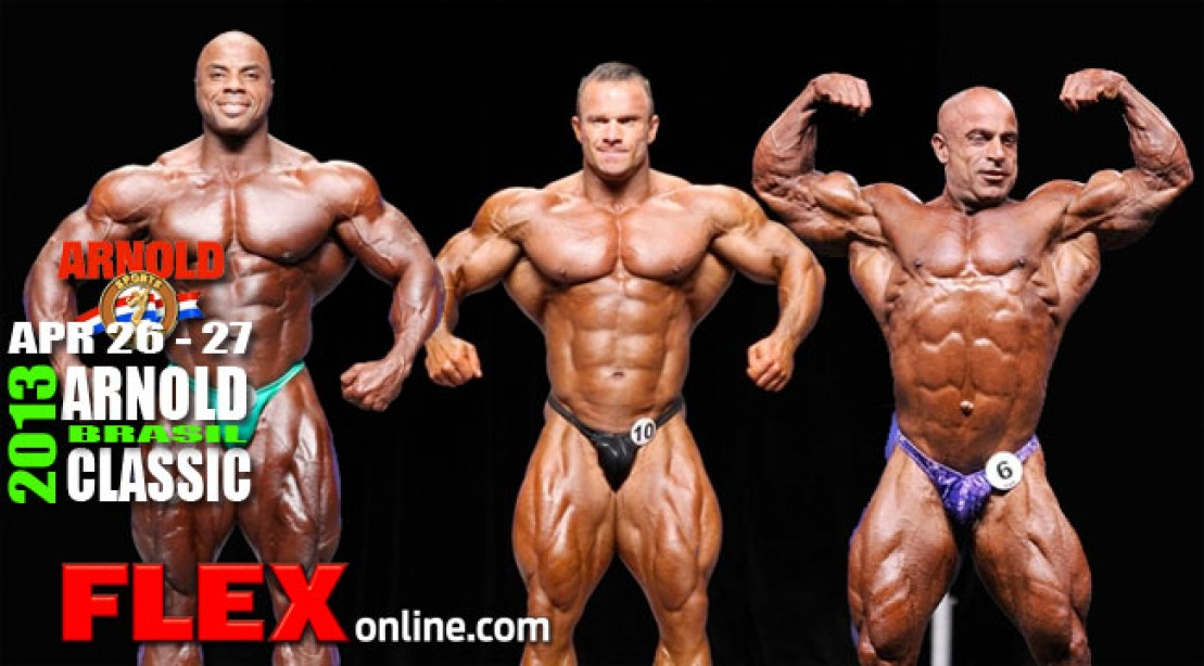 2013 Arnold Classic Brasil