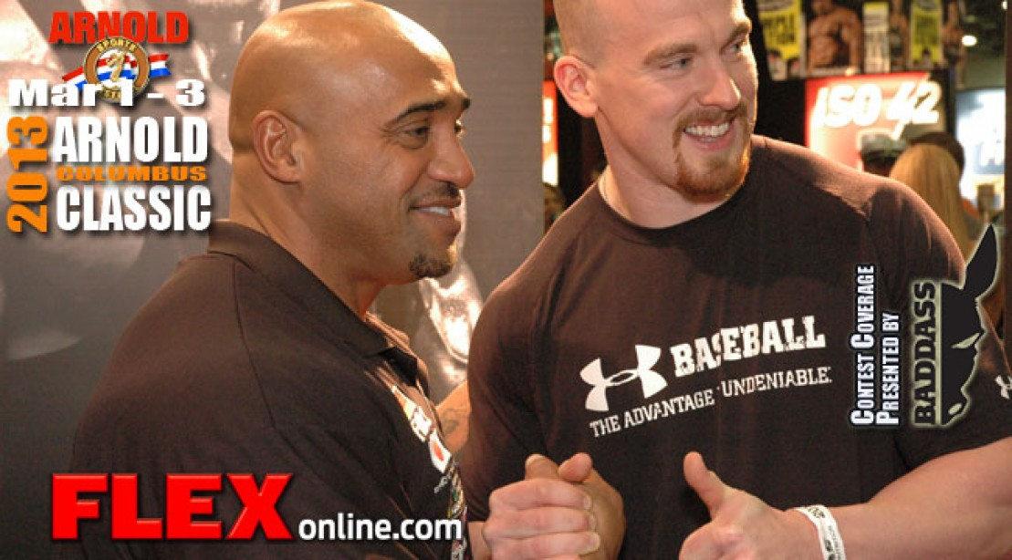 Dennis James Interview at the 2013 Arnold Expo