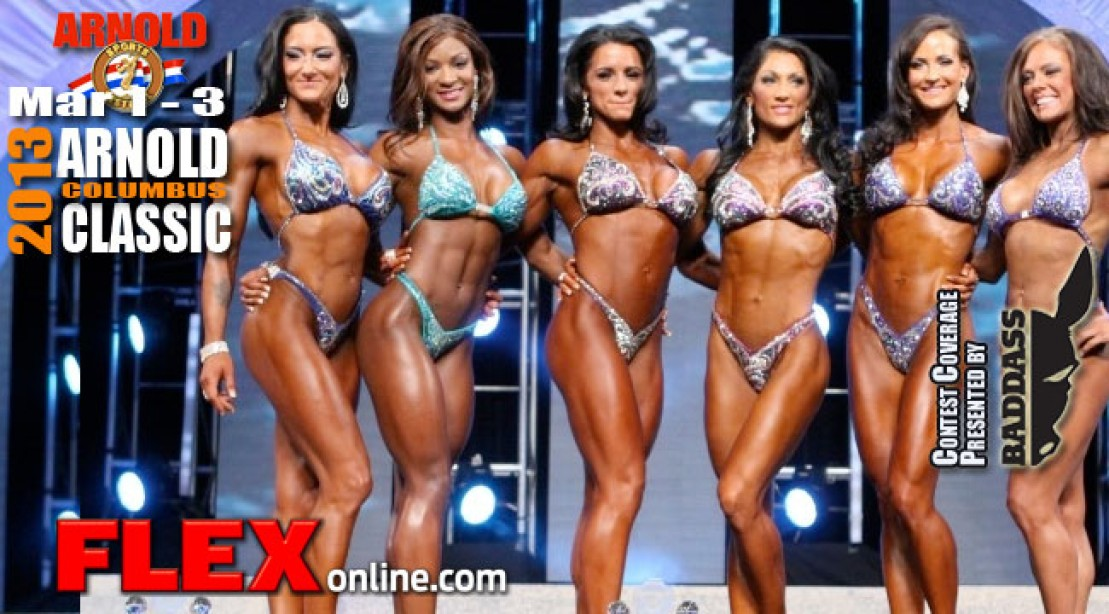 Ms Figure International Results - Candice Keene Takes It