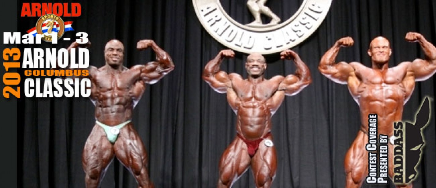 2013 Arnold Classic Results - Dexter Wins!