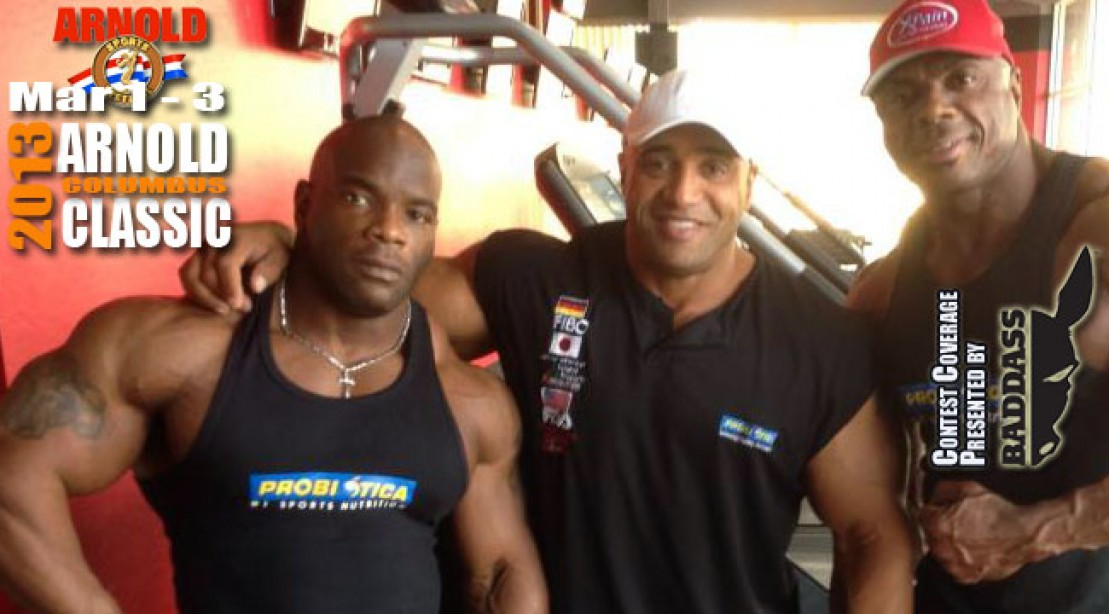 DJ on Training Marcus, Toney & Johnnie for the Arnold