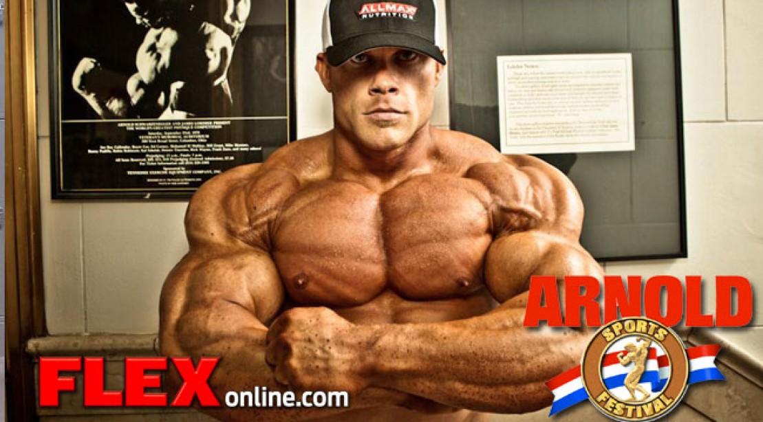 Ben Pakulski Chest Workout Arnold Classic