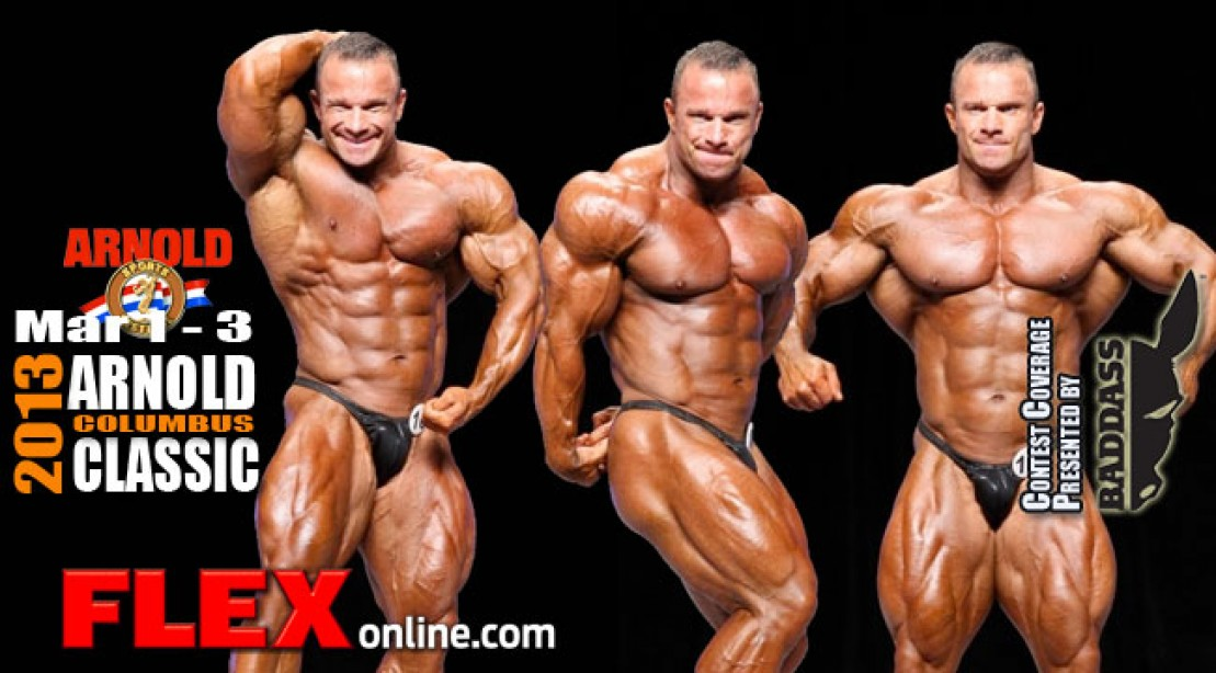 Ronny Rockel in the 2013 Arnold Classic