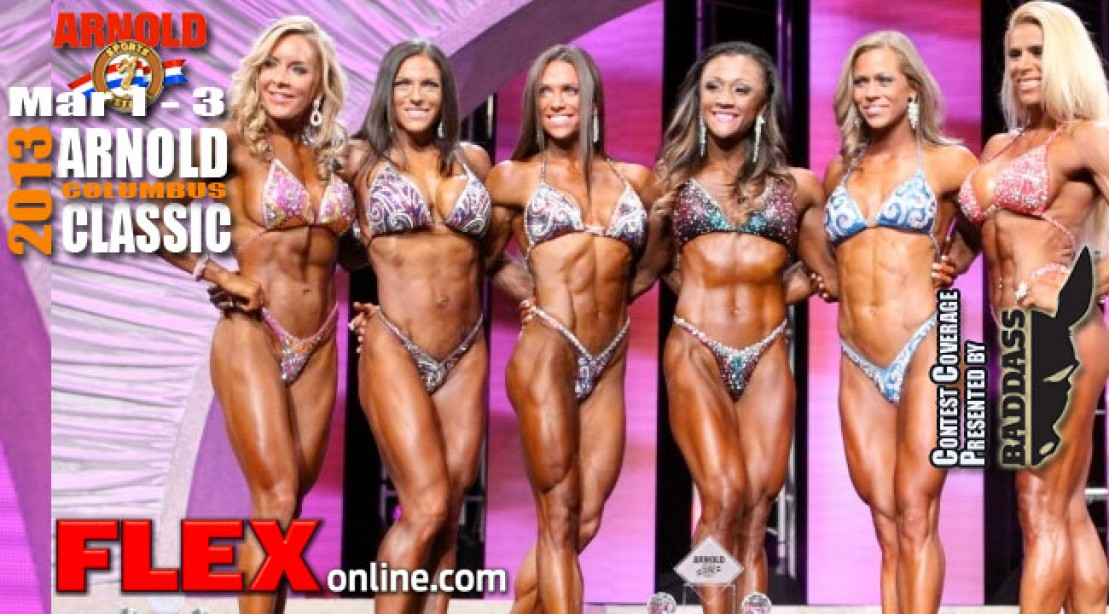 Tanji Johnson Wins Her First Arnold Ms International Fitness