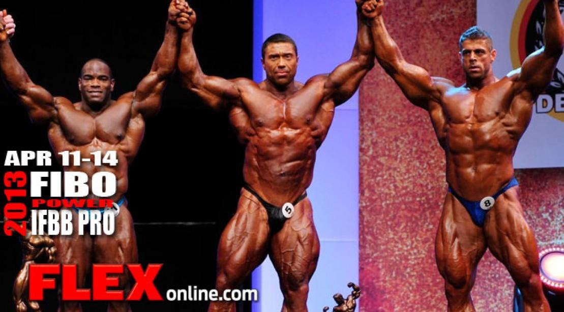 Latest FIBO Power Mens Bodybuilding List